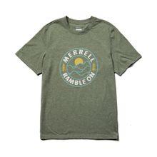 Camisetas Ramble On Tee Olive Hthr